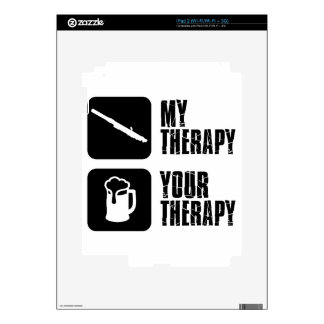 clarinet therapy designs skins for the iPad 2