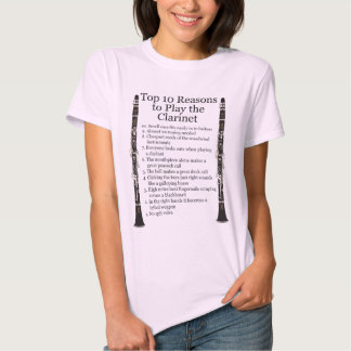 Clarinet Top 10 T-shirt