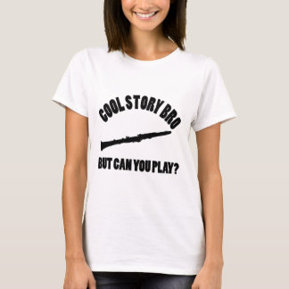 Clarinet Vector Designs T-Shirt