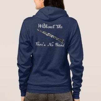 Clarinet Women's Amer. App. Flex Fleece Dark Zip H Hoodie