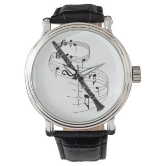 Clarinet Wrist Watch