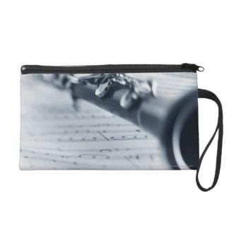 Clarinet Wristlet Purse