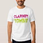 Clarinet Zombie Tshirts