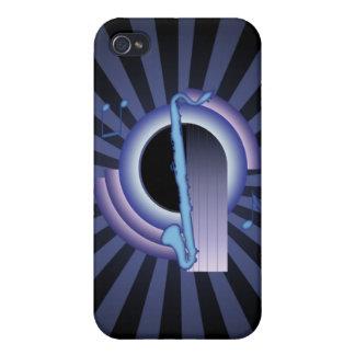 Clarinete bajo Deco2 iPhone 4 Cárcasas