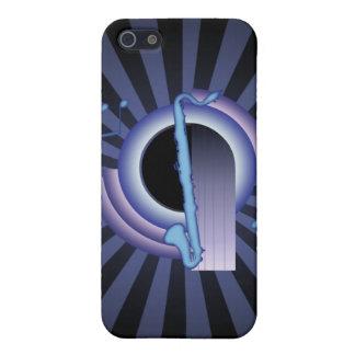 Clarinete bajo Deco2 iPhone 5 Carcasa