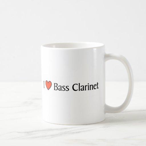 Clarinete bajo del corazón I Tazas De Café