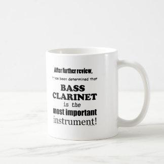Clarinete bajo la mayoría del instrumento tazas