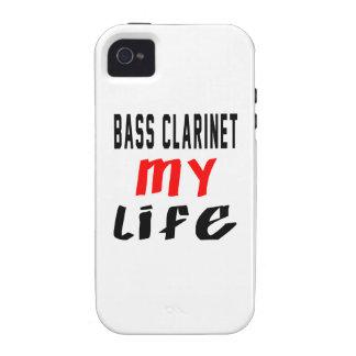 Clarinete bajo mi vida vibe iPhone 4 carcasas
