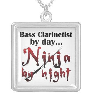 Clarinete bajo Ninja Pendiente Personalizado