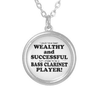 Clarinete bajo rico y acertado colgante personalizado