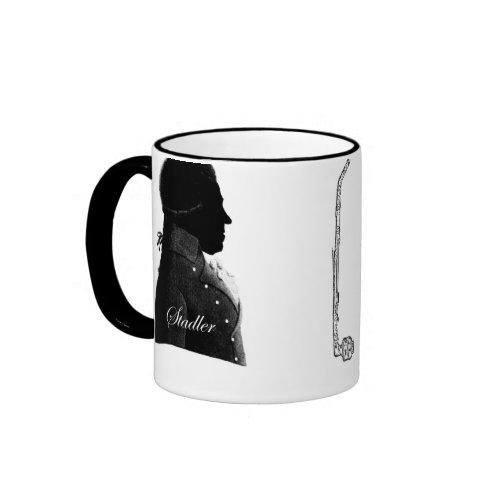 Clarinetist Anton Stadler and composer Mozart Mug mug