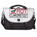 Clarinetist caliente bolsas para portátil