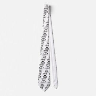 Clarinetist del núcleo duro corbata personalizada