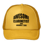 Clarinetist impresionante gorra