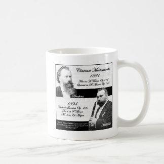 Clarinetist Mühlfeld inspired Brahms Mug