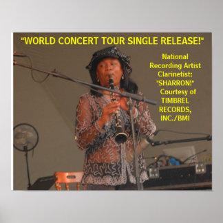 Clarinetist nacional del artista de una discográfi posters