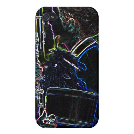Clarinetist que marcha 4/4S iPhone 4/4S Carcasa
