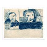 Clarinetist y jugador de flautín, Vincent van Gogh Postales