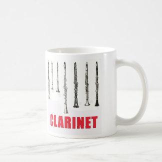 Clarinets en la línea taza