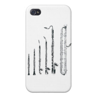clarinets iPhone 4/4S carcasas