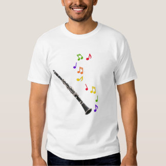 Clarinets Make Colorful Music T Shirt