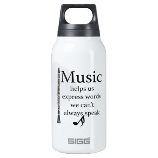 Clarinets Music Helps Us Express Words Mug Cup 10 Oz Insulated SIGG Thermos Water Bottle
