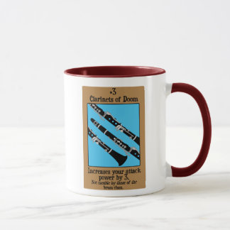 Clarinets of Doom Mug