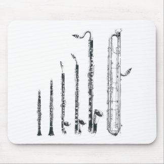 clarinets tapetes de ratón