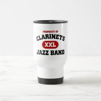 Clarinets xxl Jazz band Travel Mug