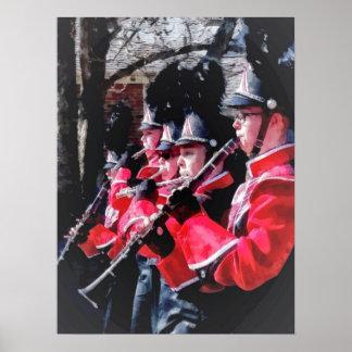 Clarinets y flautas en el desfile