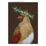 Clarissa la tarjeta de felicitación cardinal