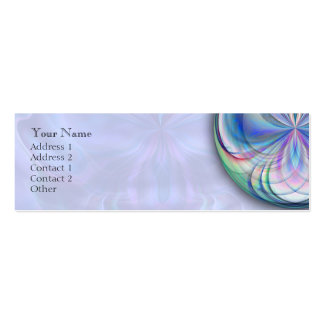 Clarity Mandala Skinny Business Card
