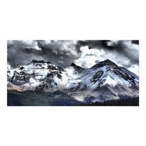 Clarity Under The Clouds Photo Card