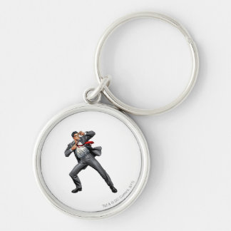 Clark changes into Superman Keychain
