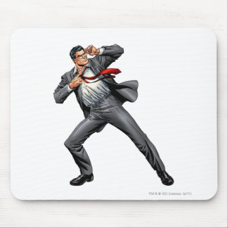Clark changes into Superman Mouse Pad