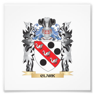 Clark Coat of Arms - Family Crest Photo Print
