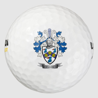 Clark Coat of Arms Golf Balls