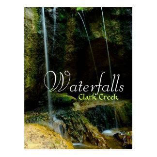 Clark Creek Waterfalls - Tunica Hills Postcard
