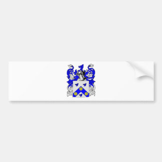 Clark (English) Coat of Arms Bumper Sticker