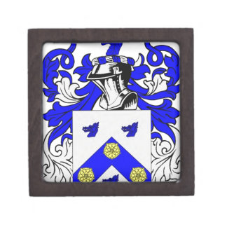 Clark (English) Coat of Arms Gift Box