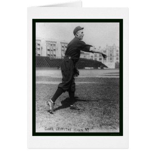 Clark Griffith Baseball 1909 Card
