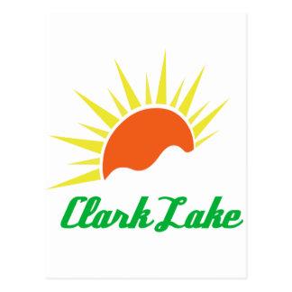 Clark Lake Sun Postcard