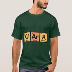 Men's Basic Dark T-Shirt with Clark made of Elements design