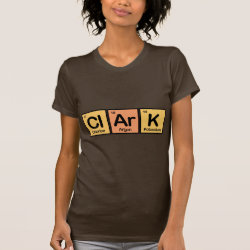 Women's American Apparel Fine Jersey Short Sleeve T-Shirt with Clark made of Elements design