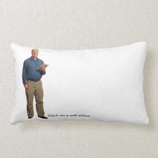 Clark on a soft pillow