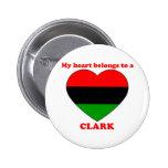 Clark Pinback Button