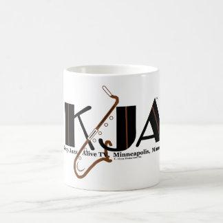 """Clark Ulysse """"Keep Jazz Alive TV"""" Coffee Mug"""