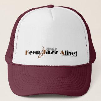 """Clark Ulysse """"Keep Jazz Alive"""" TV HeOne Brand Trucker Hat"""