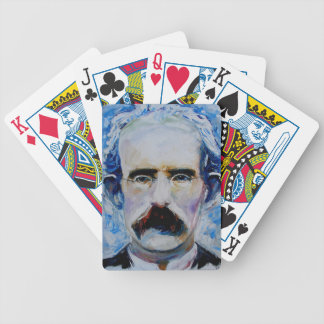 clarke bicycle playing cards
