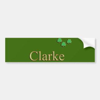 Clarke Family Bumper Sticker